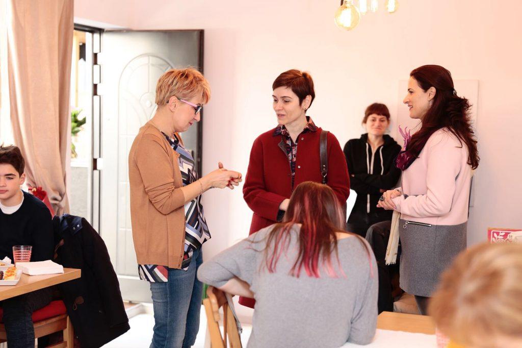 Imagini din cadrul atelierului de nutriție pentru părinți - RevistaMargot.ro