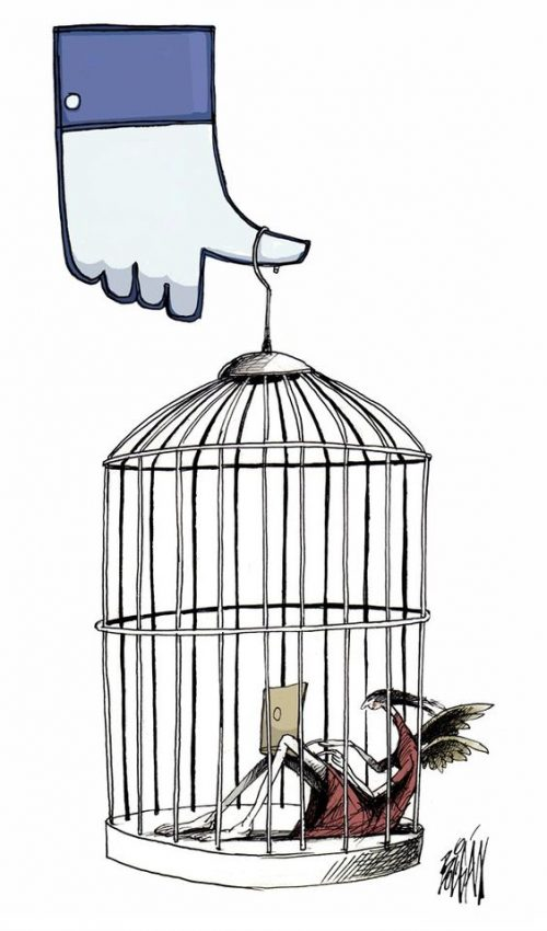Raina Șaguna: Dependent de Facebook? - RevistaMargot.ro