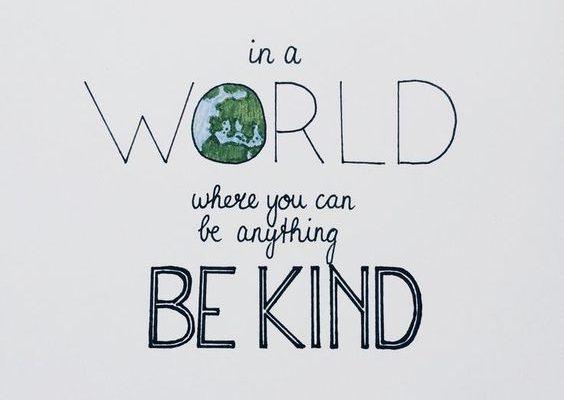 Un strop de bunătate ar putea schimba lumea - RevistaMargot.ro