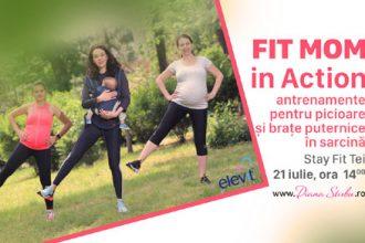 Diana Știrbu vă invită la evenimentul Fit Mom in Action - RevistaMargot.ro