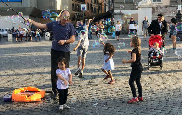 Activități gratuite pentru copii în Roma