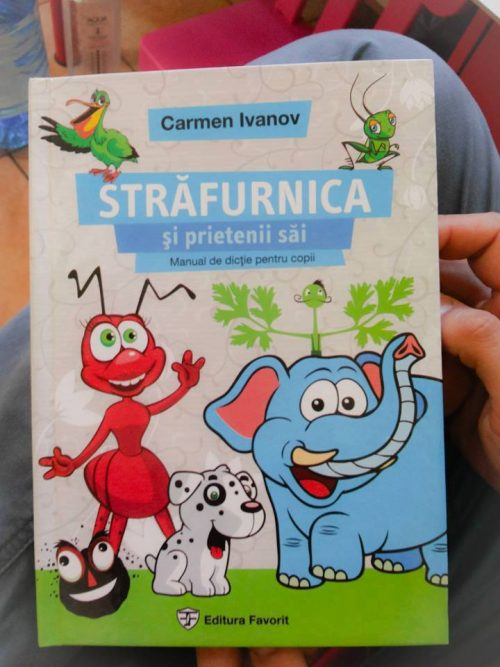 Carmen Ivanov Lecția de dicție - RevistaMargot.ro