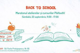 PlaYouth is Back to School, pe 22 septembrie - RevistaMargot.ro