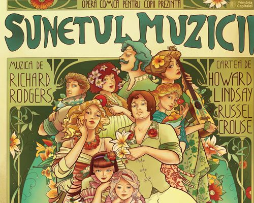 """Opera Comică pentru Copii suplimentează reprezentațiile musicalului ,,Sunetul muzicii"""" - RevistaMargot.ro"""