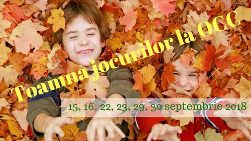 Ultimul weekend la Toamna Jocurilor, în Grădina Operei Comice pentru Copii - RevistaMargot.ro