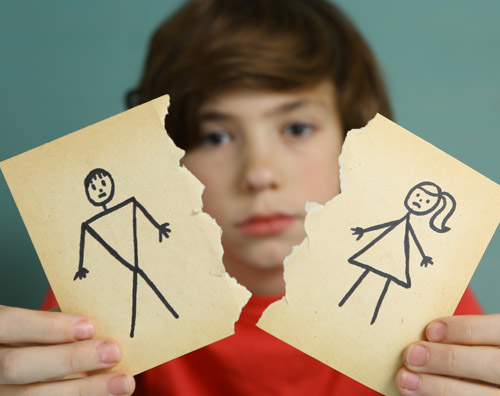 Ce înţeleg copiii despre divorţ, în funcţie de vârstă - RevistaMargot.ro