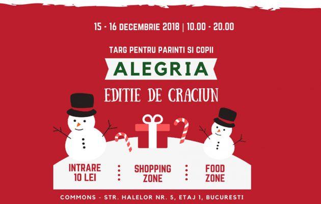 Vă invităm la Alegria Târg - ediția de Crăciun - RevistaMargot.ro