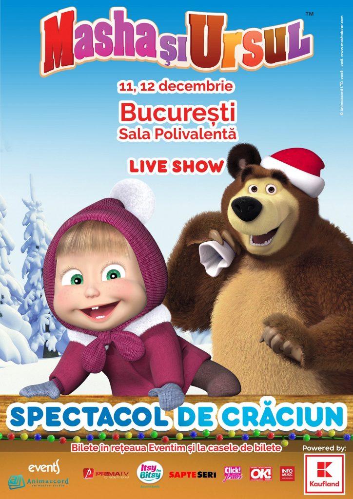 Masha și Ursul – voioșie și aventură cât cuprinde. BONUS: Invitație la CONCURS - RevistaMargot.ro