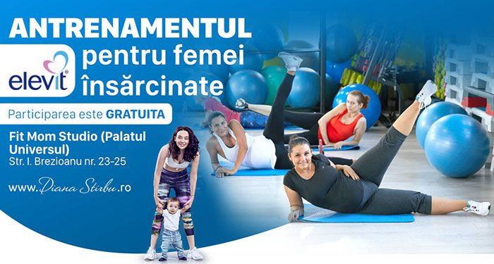 Diana Știrbu te invită la antrenamentul Elevit, pentru femeile însărcinate - RevistaMargot.ro