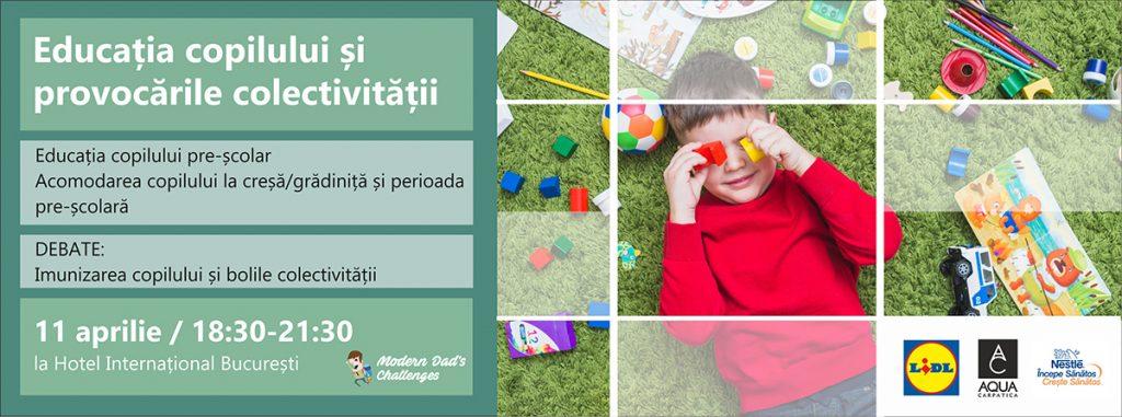 Modern Dad's Challenges: Educația copilului și provocările colectivității - RevistaMargot.ro