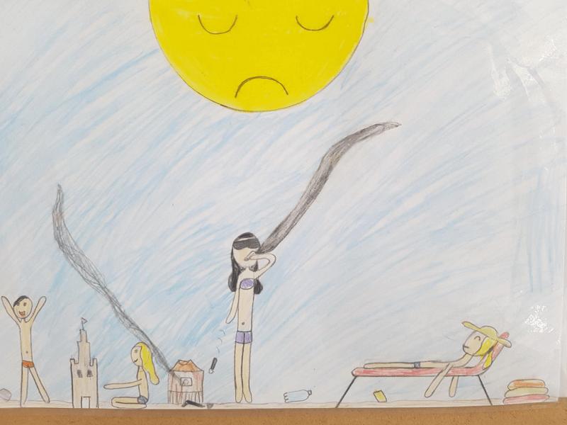Desene ale celor mici de Ziua Pământului - RevistaMargot.ro