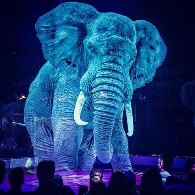 Animalele de la circ inlocuite de holograme
