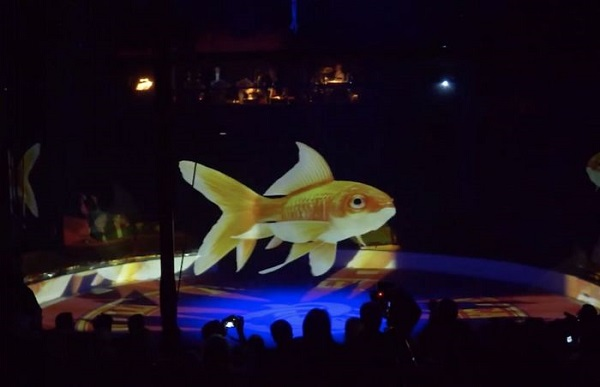 Animalele de la circ înlocuite de holograme
