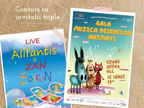 CONCURS - Opera Comică pentru Copii - premii multiple