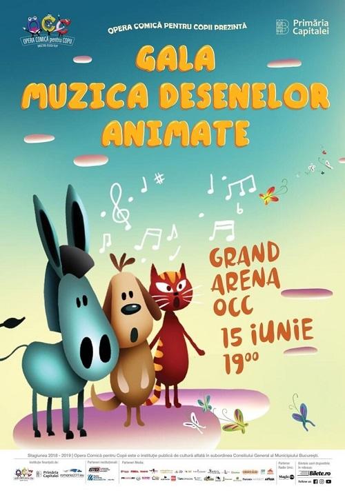 Spectacole de gala la Opera Comica pentru Copii