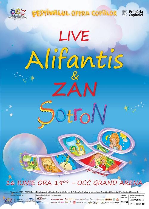 Spectacole de gala la Opera Comica pentru copii - Sotron, cu Nicu Alifantis