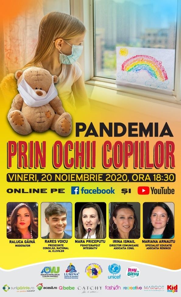 Pandemia prin ochii copiilor